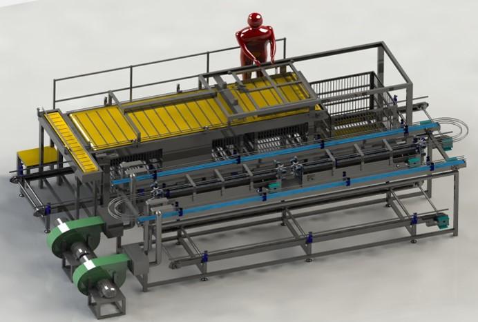 Air Blower De-Watering Conveyor-1
