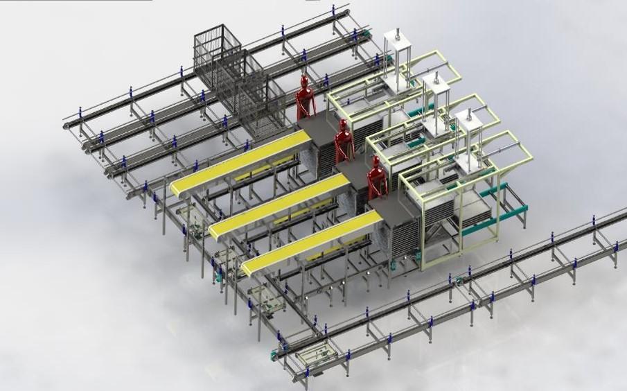 Conveyor automation system-2