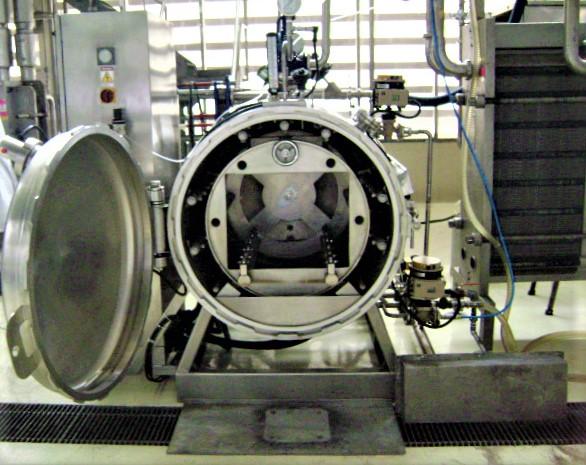 Pilot Scale Rotary Retort 95DR