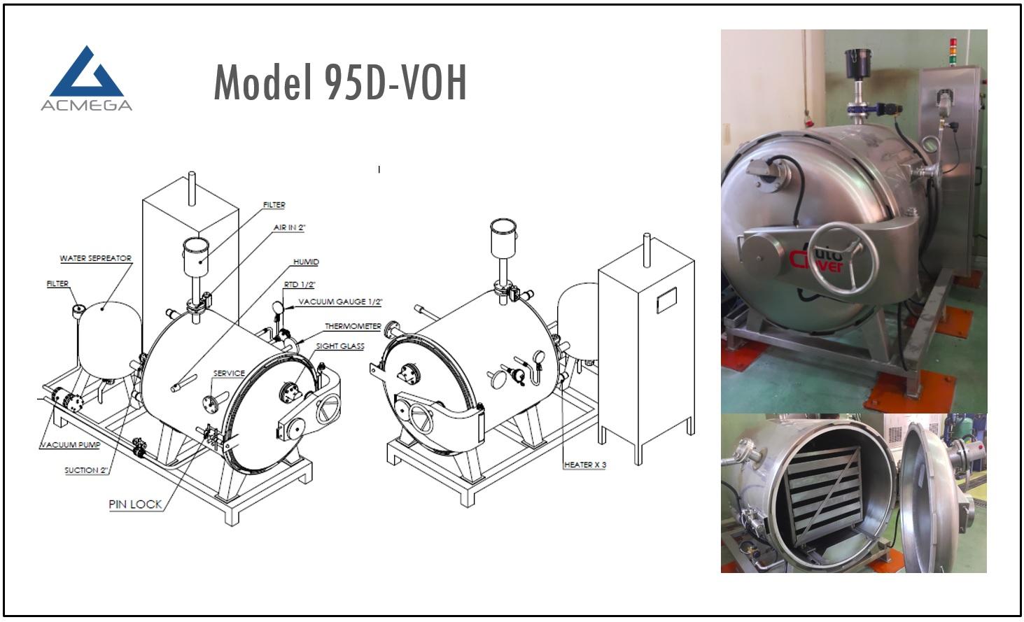 vacuum oven retort